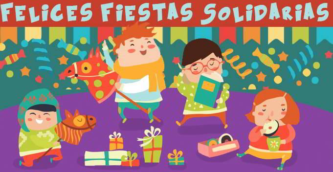 felices fiestas solidarias