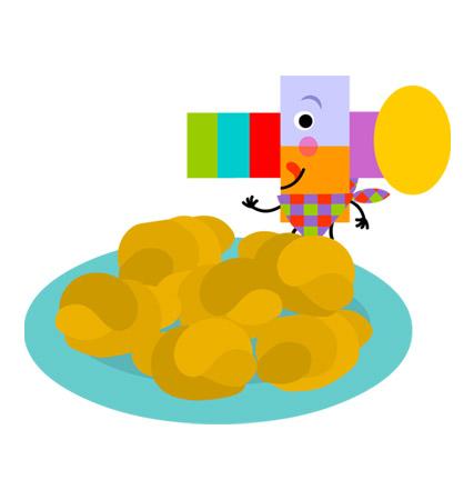 panecillos de patata